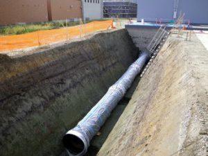 創設事業の内 導水施設 導水管新設工事その11