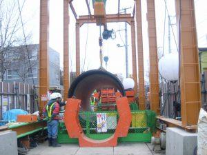 施設整備事業の内送水施設 国庫補助事業 白川第3送水管新設工事 その21