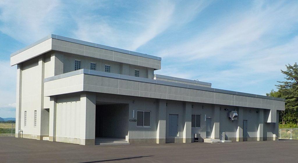 湯田地区簡易水道施設統合整備事業水源・浄水場建設工事